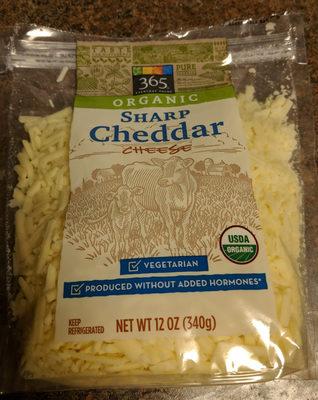 Organic Sharp Cheddar Cheese - Product