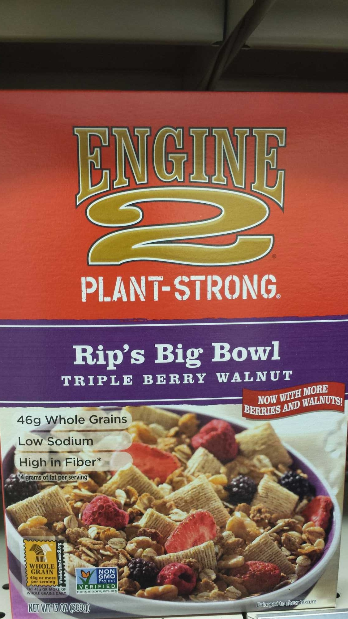 Rip's Big Bowl Triple Berry Walnut - Product