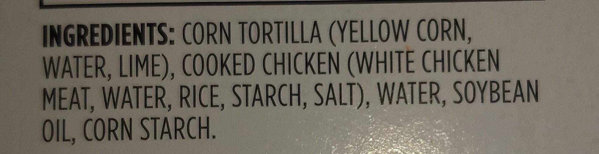 Chicken Taquitos - Ingrédients