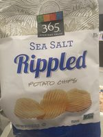 Rippled, Potato Chips, Sea Salt - Product