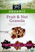 Organic Fruit & Nut Granola - Product
