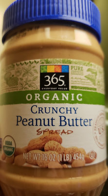 365 everyday value, organic crunch peanut butter - Product - en