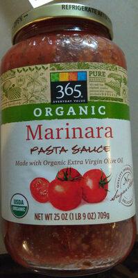 365 everyday value, marinara pasta sauce - Product - en