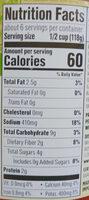 Organic Italian Herb Pasta Sauce - Nutrition facts