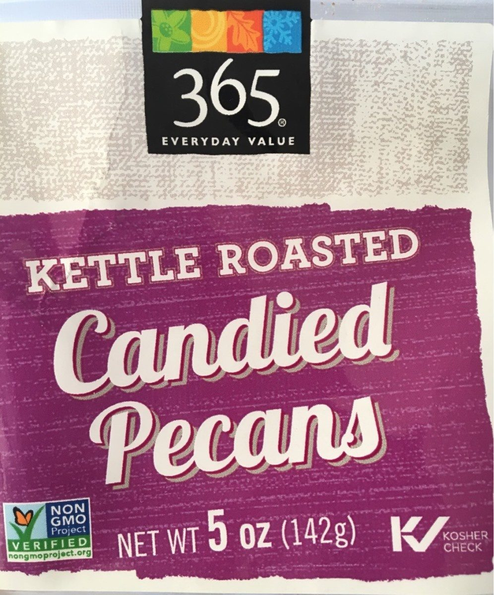 Kettle roasted candied pecans - Produit - fr