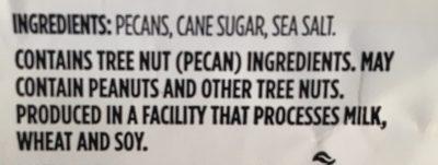 Kettle roasted candied pecans - Ingrédients - fr
