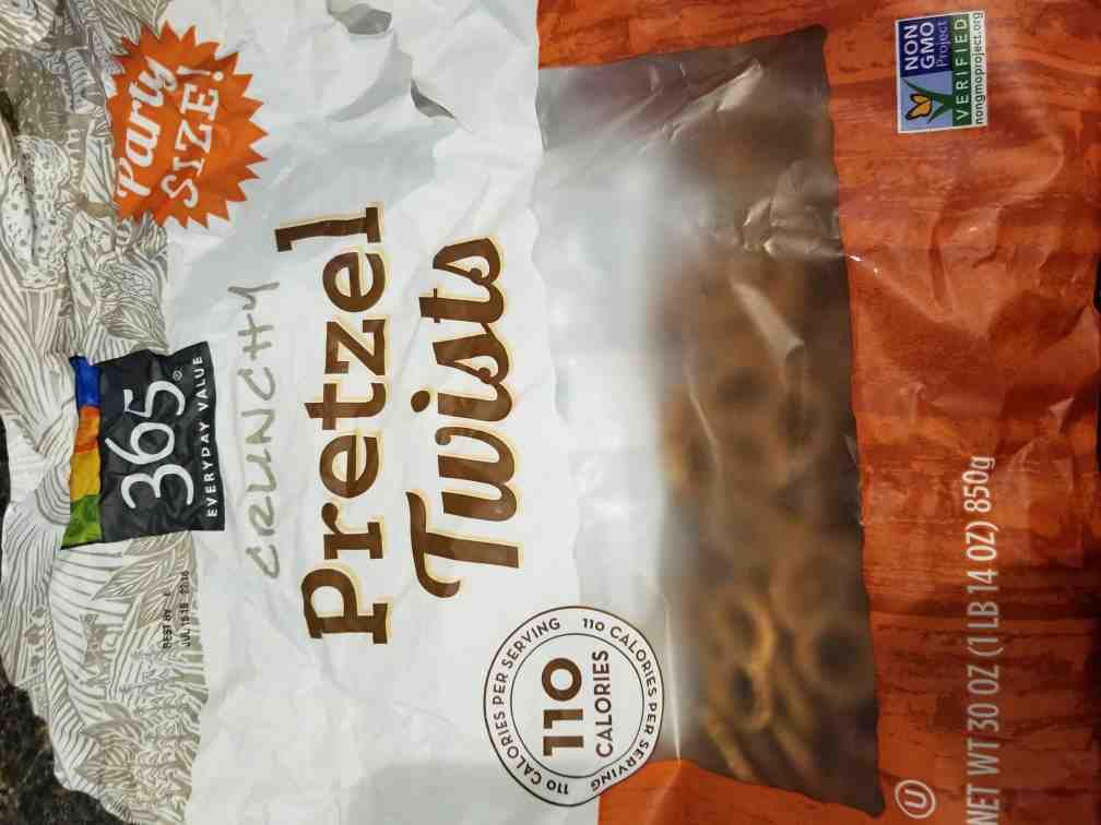 Crunchy pretzel twists - Product - en