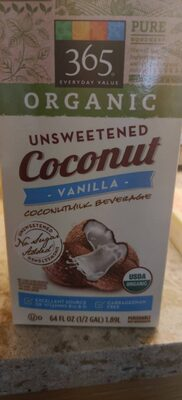 Organic unsweetened coconutmilk beverage - Product