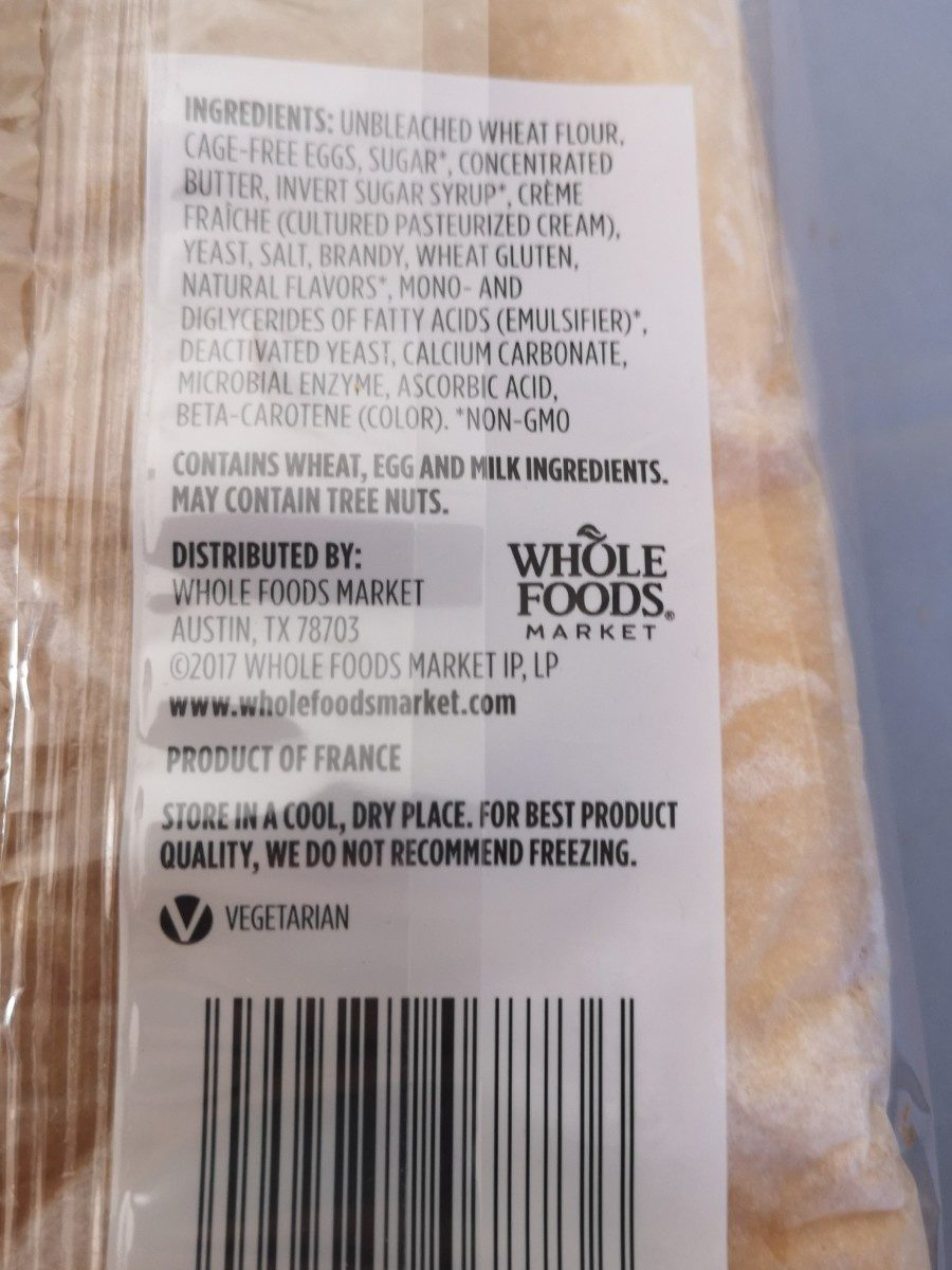 Brioche - Ingrediënten - fr