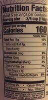 Plain almondmilk unsweetened non-dairy yogurt - Nutrition facts - en