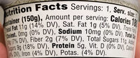 Strawberry almondmilk non-dairy yogurt, strawberry - Nutrition facts - en