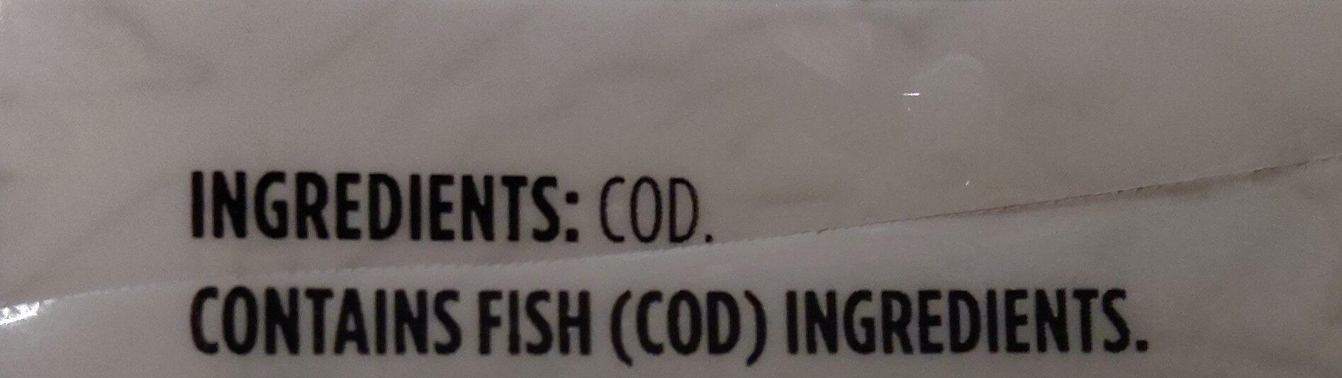 Wild-Caught Cod Fillets - Ingredients - en