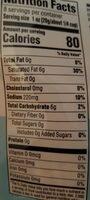 Plant-based Cheddar - Nutrition facts - en