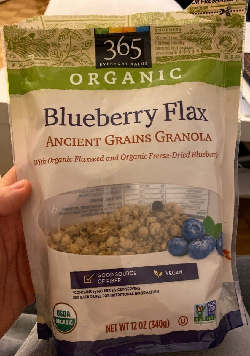 Blueberry flax ancient grains granola, blueberry flax - Product - en