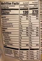 Blueberry flax ancient grains granola, blueberry flax - Nutrition facts - en
