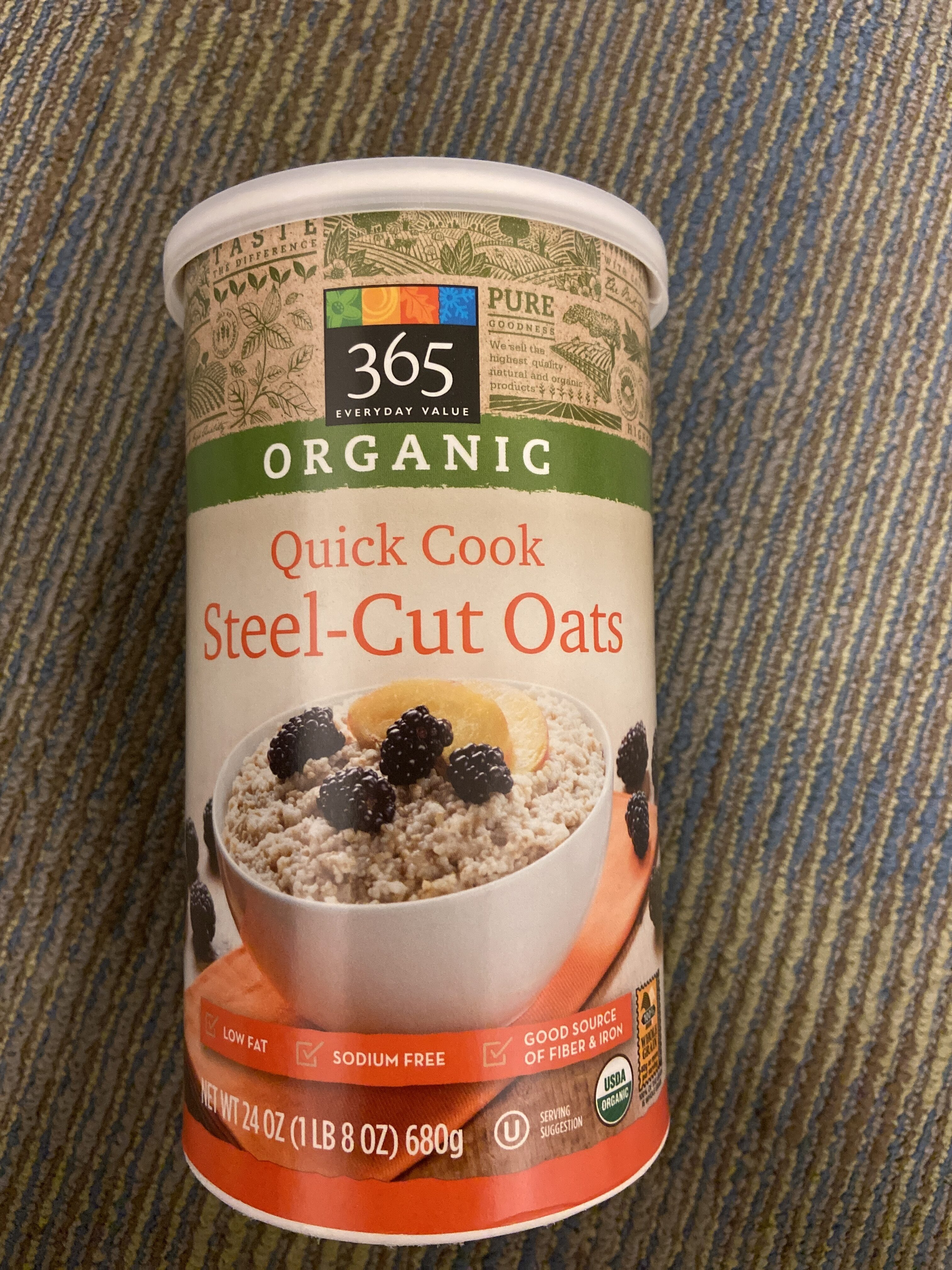 Quick cook steel-cut oats - Product - en