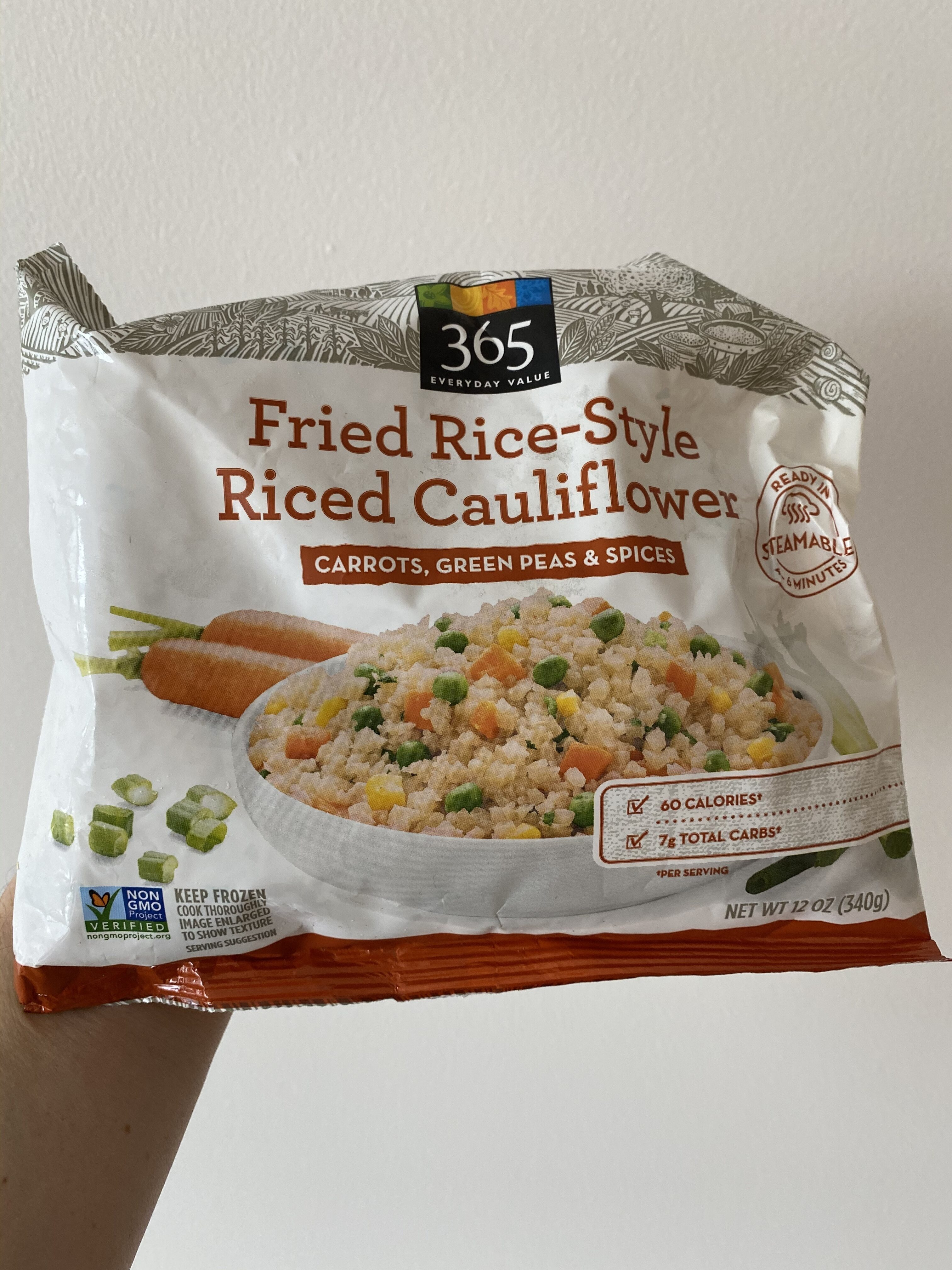 Fried Rice-Style Riced Cauliflower - Product - en