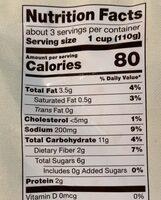 Provencal blend with basil & garlic sauce - Informations nutritionnelles - en
