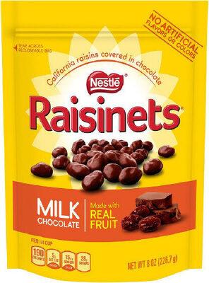 Milk chocolate covered raisins - Product - en