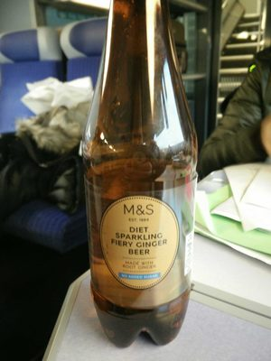 Diet sparkling fiery ginger beer - Product