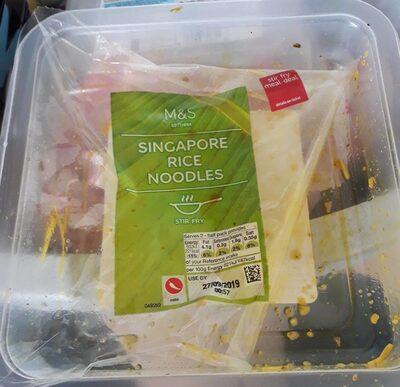 Singapore rice noodles - Product