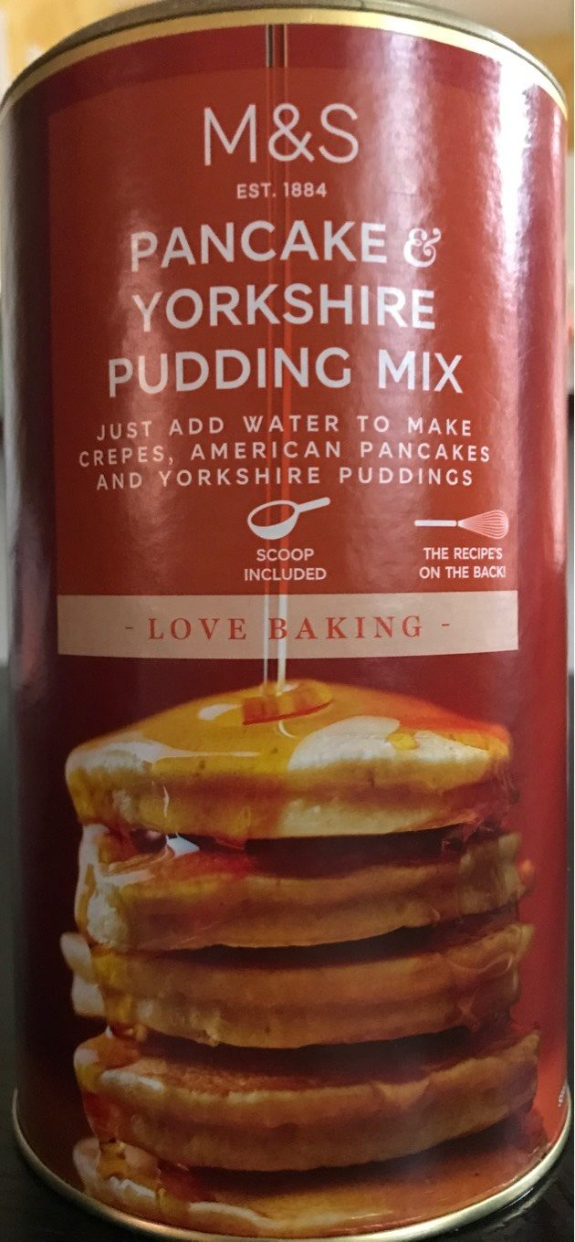 Yorkshire Pudding And Pancake Mix - Product - fr