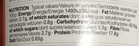 Pancake & Yorkshire Pudding Mix - Nutrition facts