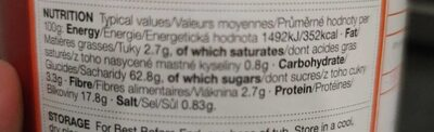Yorkshire Pudding And Pancake Mix - Nutrition facts - fr