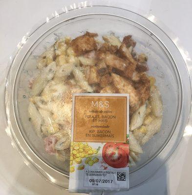 Salade de pâtes Poulet, Bacon et Maïs - Product