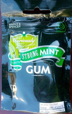 Curiously strong mint Gum - Product