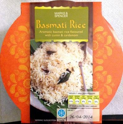 Basmati Rice - Produit