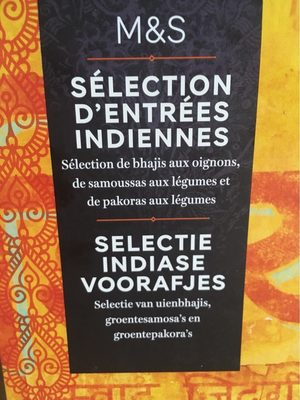 Sélections d'entrées indiennes - Product