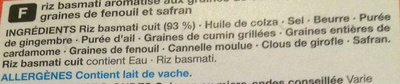 Pilau Rice - Ingredients
