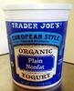 European Style Organic Plain Nonfat Yogurt - Product