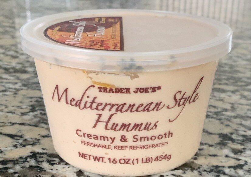 Mediterranen Style Hummus - Produit - en