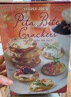Pita bite crackers - Product - en