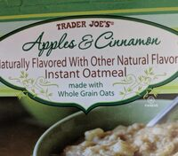 Apple and Cinnamon instant oatmeal - Product - en