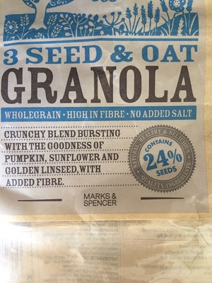 3 Seed & Oat Granola - Product