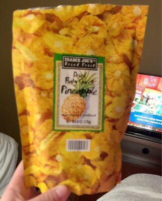 Dried baby sweet pineapple - Produit - en