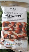 Roasted & Salted Almonds - Product