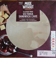 Gluten free Victoria sandwich cake - Product - en