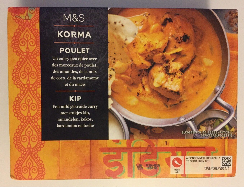 Poulet Korma - Product - fr