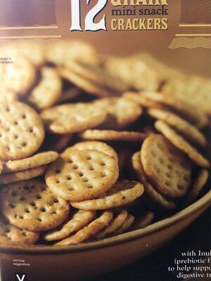 12 Grain mini snack Crackers - Product - en