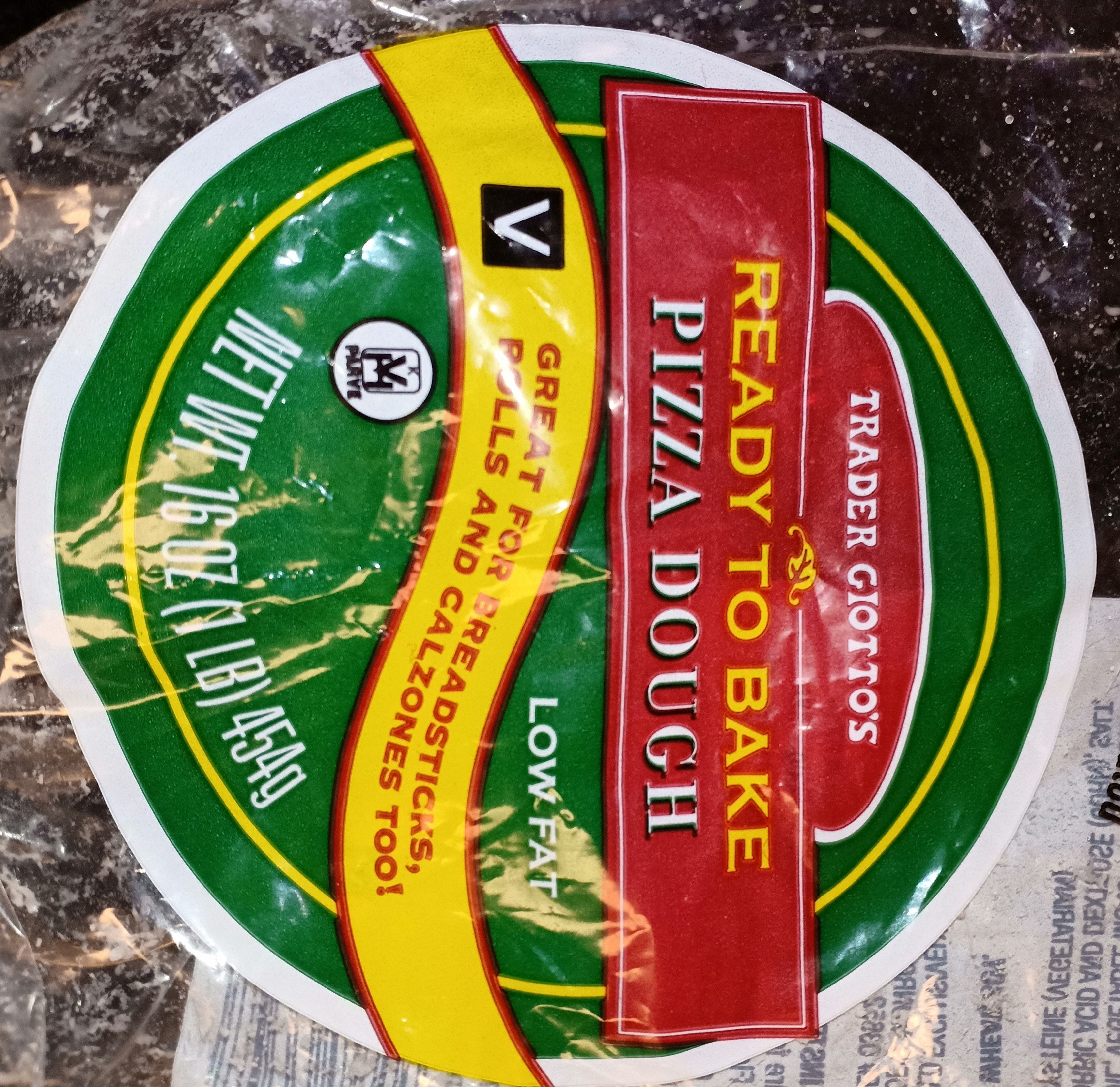 Pizza Dough low fat - Product - en