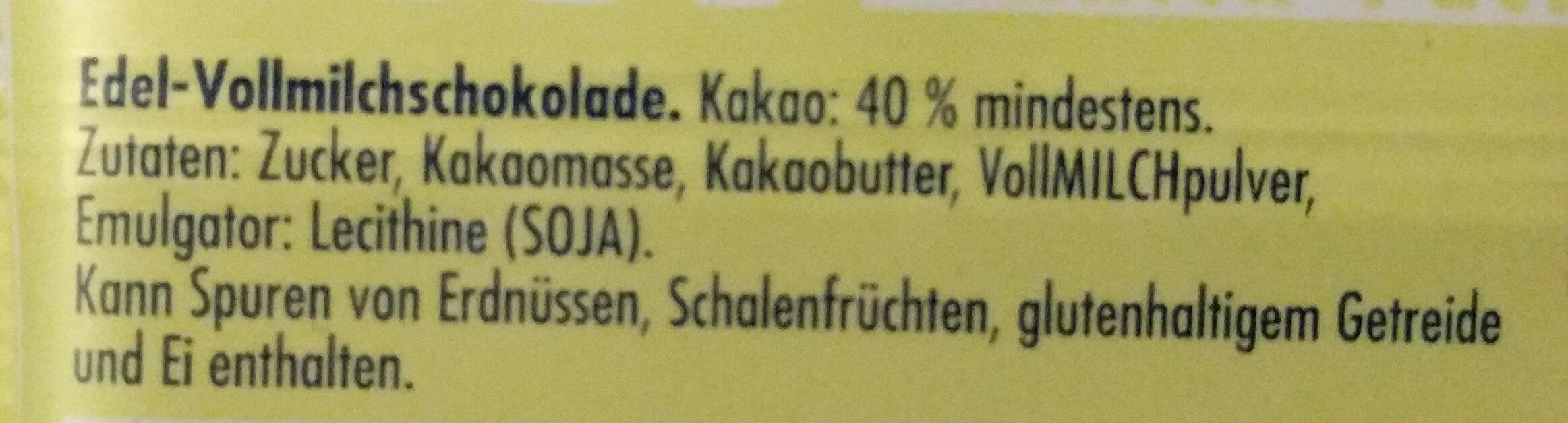 Don Schocko - Ingredients - de