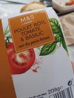 Sandwich Poulet rôti, tomate & basilic - Prodotto - fr
