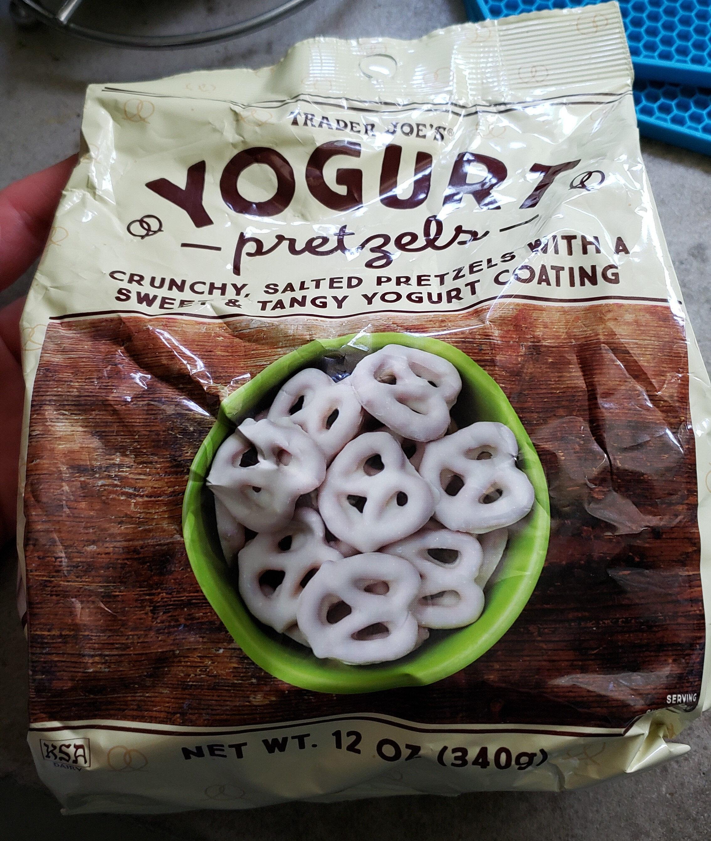 Yogurt Pretzels - Product - en