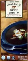 Organic Beef Broth - Product
