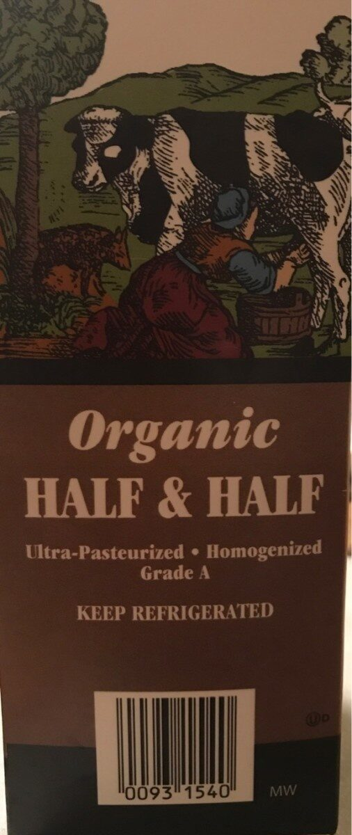 Organic Half & Half - Product
