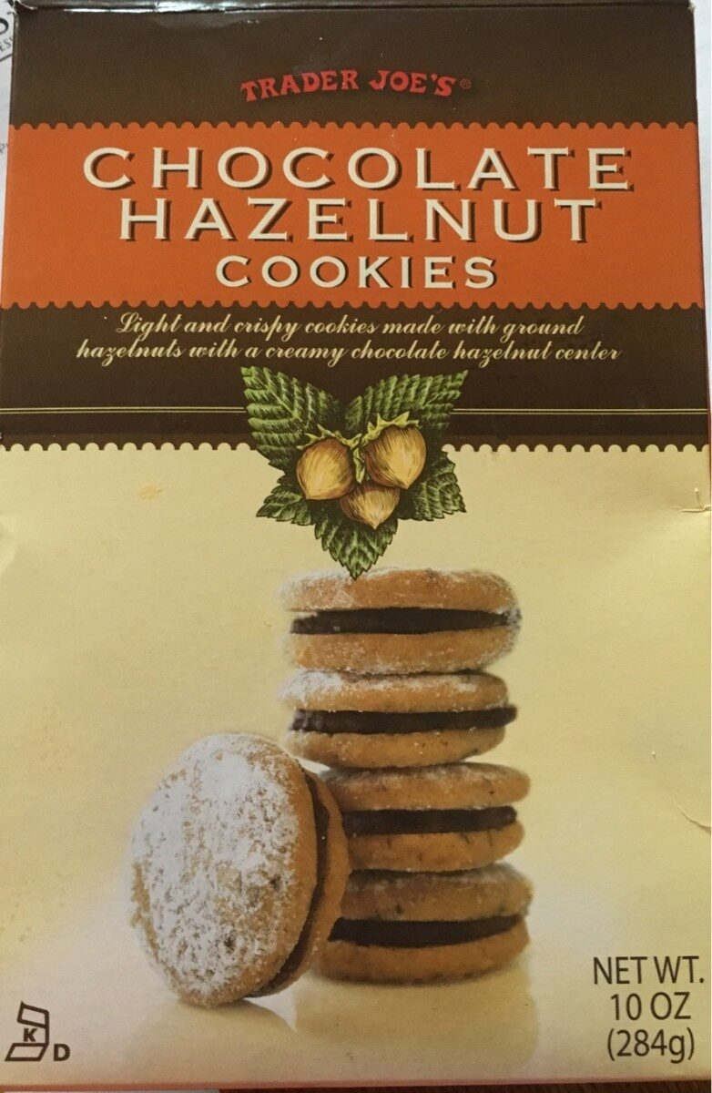Chocolate Hazelnut cookies - Product